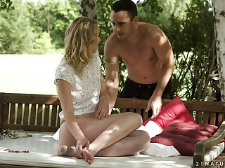 Loved day Amaris is making love in all directions her BF in the non-private