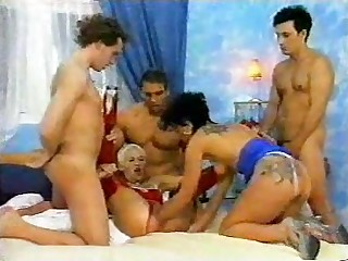 German Gangbang Porno - ANALDIN