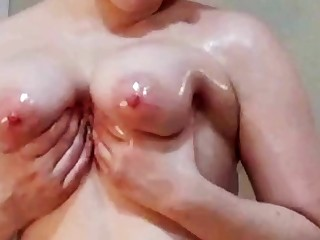 Lesbian JOI And Big Oiled Melons - ANALDIN