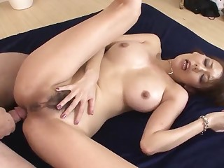 Akari Asagiri amazing mommy sex act with two makes  - More at 69avs com