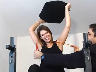 Anna Tickling Armpits