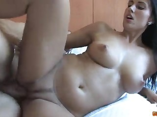 Slinky Czech girl faces a Big Penis - melissa ria