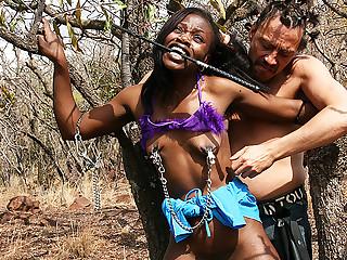 anorexic african bdsm safari dame