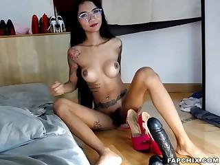Hot girl slut pounded and cummed online