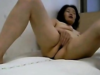 Korean Asian Homemade  - masturbating, cunt, cock cum