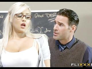 Gorgeous Blonde Teen Instructor Girl