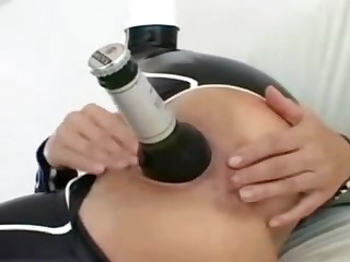One Bottle assfuck Fisting extreme