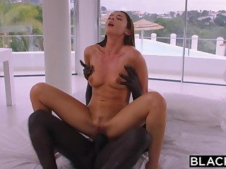 BLACKED She Unparalleled Wanted Up Meet Him But Couldnt Resist His BIG BLACK COCK - darkhaired babe