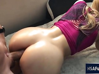 Banana double penetrations sensual rump assfuck and cunt pound doggy Part 2
