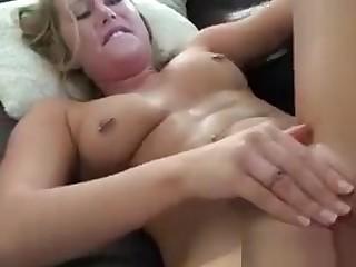 Hot blonde begs guy for coitus down settle d repair her boyfriend