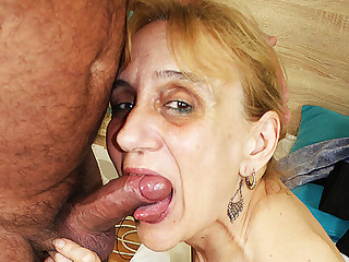 ugly 84 years age-old mom deep fucked