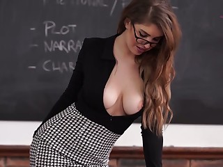Boobs, Beauty, Milf, Office, Teacher