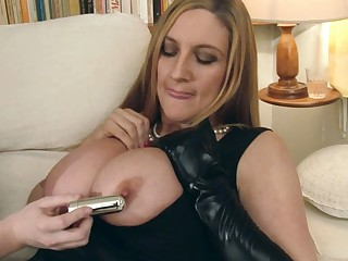 Jenny Badeau & Tasha Holz drag inflate their OWN nipples...