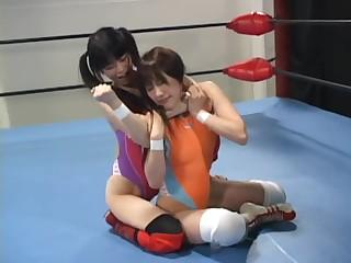 Japan Wrestling Sapphic