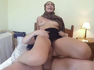 Arab, Babe, Big cock, Hotel, Slut