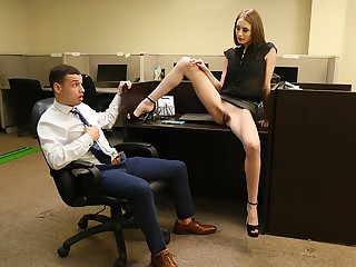 Kyler's Office Quickie