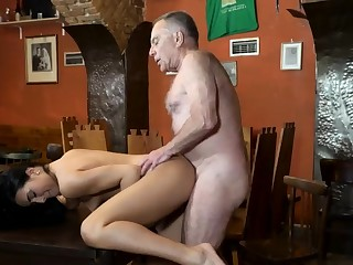 Penny step daddy and old woman make the beast with two backs young girls Can you