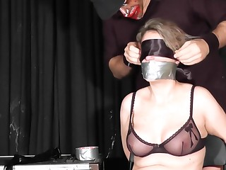 Extremely Hardcore Bdsm Rope Caring With Anal Action