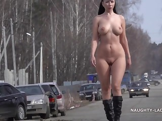 Nasty Lada - Spring has approve - big jugs