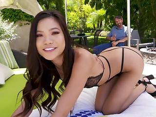 nasty asian Vina Sky thrilling sex video
