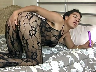 Hairy pet Luna Monroe is a horny nuptial day girl - Compilation - WeAreHairy