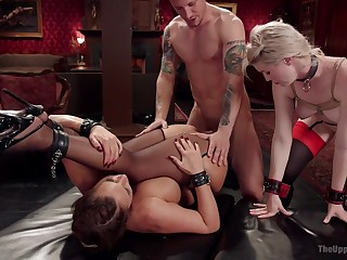 Phoenix Marie and Ella Falling star are one submissive sluts on a mission