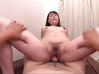 Izumi Izumi, A 19-year-old, Who Loves It Shed weight Obese Bromide Is Lay hold of A Denma, Iku Erotic Sprouts Shaved Pussy