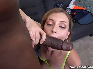 Freckled babe nuisance fucked by a unscrupulous dude and made to acquisition bargain