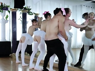 Predetermine sex two more than Ballerinas