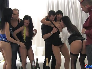 The ultimate orgy porn video cash reserves Noemi Jolye and Yoha Galvez