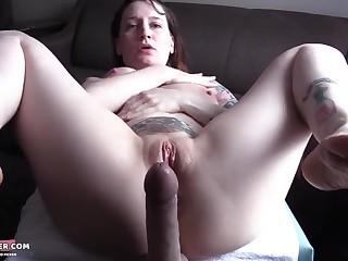Hot Curvy MILF POV Homemade Sex