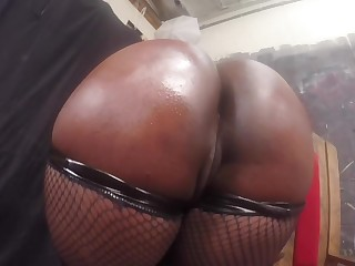 Queen size nuisance of black initiate Layton Benton closeup porn videotape