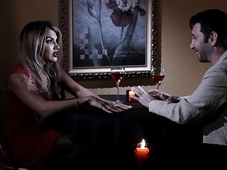 Femme fatale Mercedes Carrera is intercourse with hot blooded man