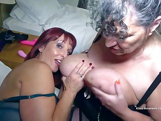 Beau Diamonds - Old mature lesbians with obese special