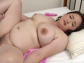 Chubby Japanese mature Sakuragi Junko gets fucked by a neighbor