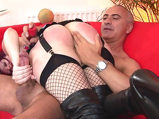 Ass spanked then fucked like a whore