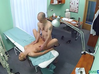 Hot nurse seduces added to fucks her old college lecturer