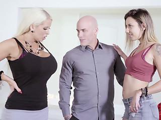 Fat join in matrimony vs. skinny mistress